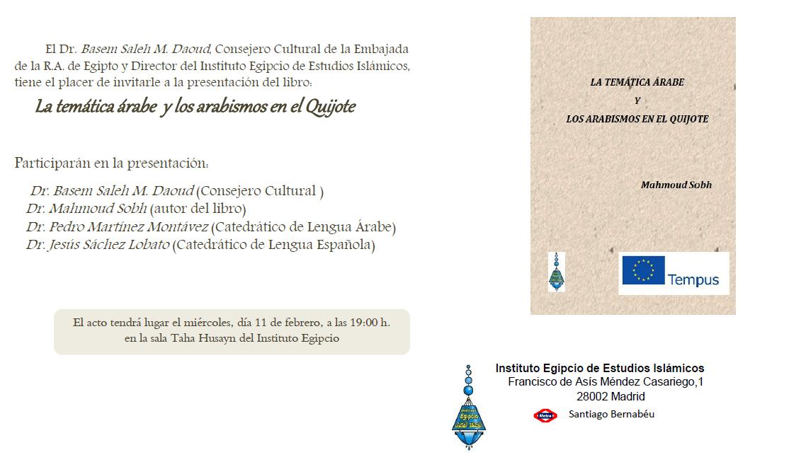 La temática árabe y los arabismos en el Quijote